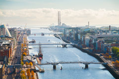 Free View Over Dublin Stock Photo - 37675620
