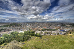 View over Edinburgh Stock Photo