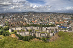 View over Edinburgh Stock Image