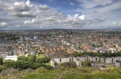 View over Edinburgh Royalty Free Stock Image