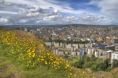 View over Edinburgh Stock Images