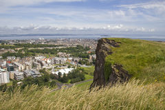 View over Edinburgh Stock Image