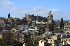 View over Edinburgh, Scotland Royalty Free Stock Images