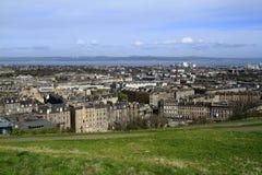 View over Edinburgh, Scotland Royalty Free Stock Photography