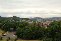 View Over Eisenach Stock Photography
