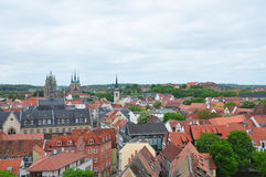 View over Erfurt Royalty Free Stock Photography
