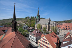 View over Esslingen Royalty Free Stock Photos
