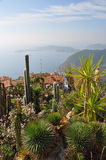 View over eze, cote d'azur Stock Photography