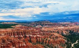 Bryce Canyon at sunset royalty free stock photo