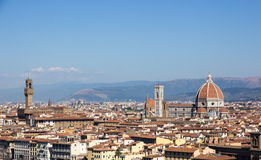 View over Firenze Royalty Free Stock Images