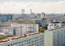 View over former East Berlin Stock Image