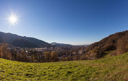 View over freiburg Stock Images
