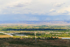 View over Fruita Stock Photos