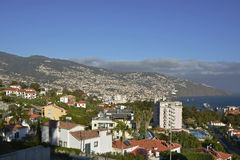 View over Funchal, Madeira, Portugal Royalty Free Stock Photos
