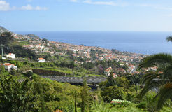 View over Funchal, Madeira, Portugal Royalty Free Stock Image