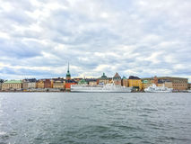 View over Gamla Stan, Stockholm Stock Image