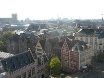 A view over Gent Stock Photos