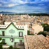 View over Girona Royalty Free Stock Images