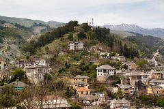 View over Gjirokaster, Albania Stock Photos