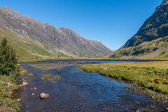 View over Glencoe Royalty Free Stock Images
