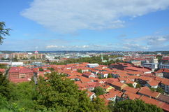 View Over Gothenburg Royalty Free Stock Photo