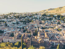 View over Granada Stock Photos