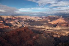 Overview of Grand Canyon. A view over the Grand Canyon in Arizona, United States Royalty Free Stock Photo