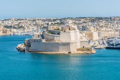 View over the Grand Harbour from Valletta, Malta Royalty Free Stock Photo