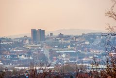View over Hanley Royalty Free Stock Image