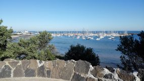 View over harbour Royalty Free Stock Image
