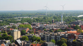 View over Hasselt, Belgium Royalty Free Stock Photos