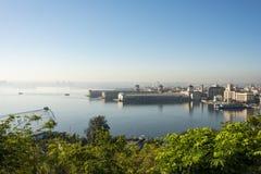 View over Havana bay Stock Photos