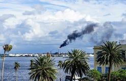 View over Havana Harbor, Cuba Royalty Free Stock Image