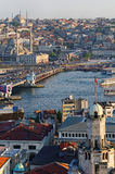View over Istanbul stock photos