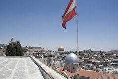 View over Jerusalem, Israel Stock Image