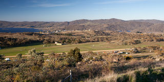 View over Jindabyne Stock Image