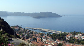 View over Kaş Royalty Free Stock Photography