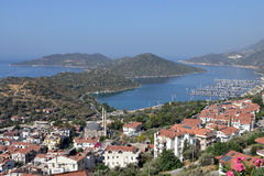 View over Kaş Stock Photography