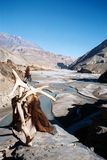 View over the Kali Gandaki Royalty Free Stock Images