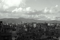 View over Kathmandu, Nepal Royalty Free Stock Images