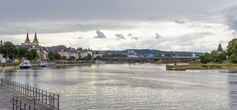 View over Koblenz Royalty Free Stock Photos
