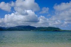View over kohama island Royalty Free Stock Photos