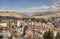 View over La Paz Stock Photos