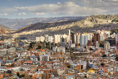 View over La Paz Stock Image