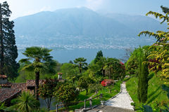 View over Lago Maggiore Royalty Free Stock Photography
