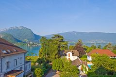 Talloires Lake Annecy royalty free stock images
