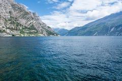 View over Lake Garda Stock Photo