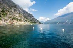 View over Lake Garda Stock Photos