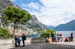 View over Lake Garda Stock Photography