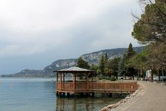 View over the lake Garda Royalty Free Stock Photography